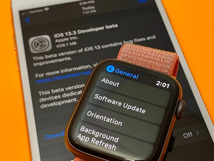 The watchOS 6.1.1 update is official and available as a beta now for developers.