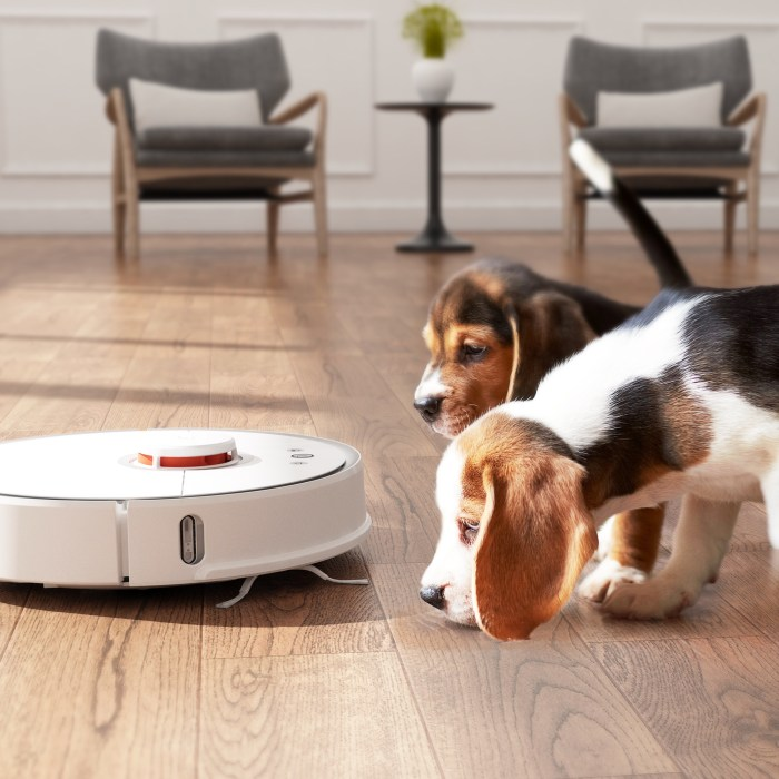 Set schedules and cleaning zones to customize where your robot vacuum cleans.