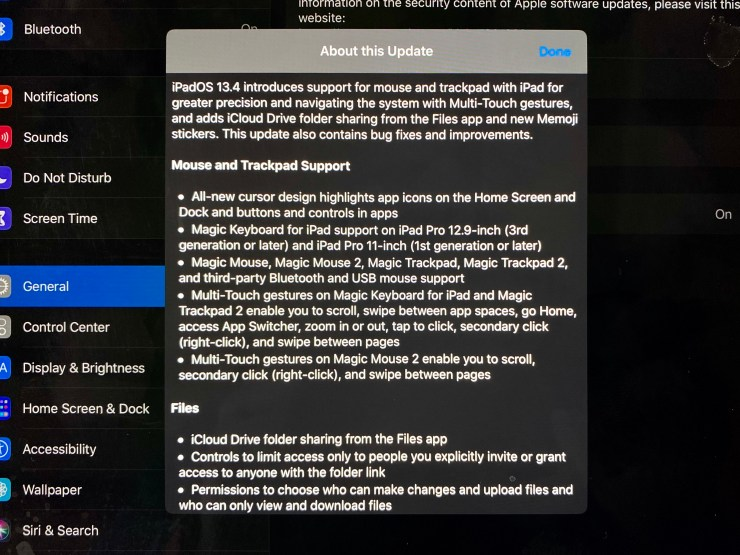 Install iPadOS 13.4.1 for These Other Tweaks
