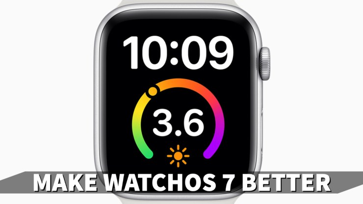 Install to Make watchOS 7 Better