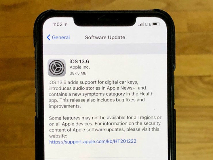 Install iOS 13.6 for Better Security