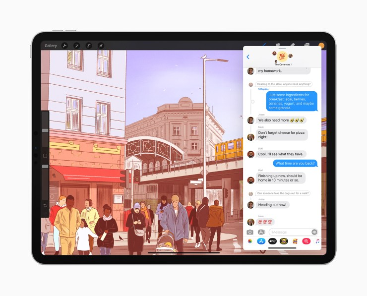Install iPadOS 14.1 for Improvements to Messages