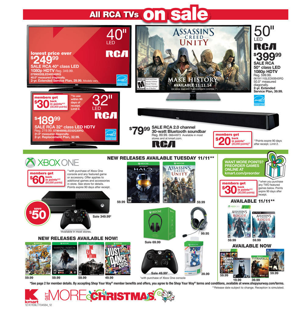 Big K-Mart Xbox One Price Cut Leaked?