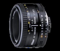 Nikon 50 mm f1.8 Prime Lens
