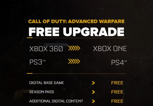 Advanced Warfare Deal
