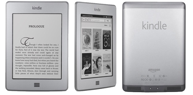 Help for writing kindle touch