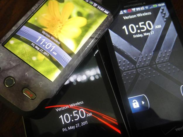 Android phones on Verizon incorrect Time