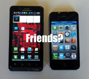 Android to iPhone