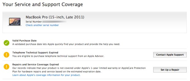 Check to see if Apple offers a free fix for your MacBook Pro video problems.