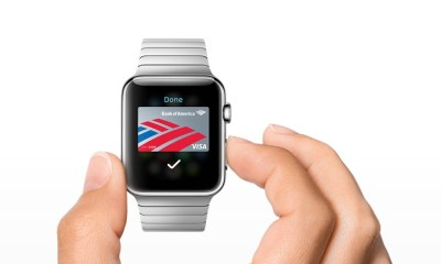 You can use Apple Pay on the iPhone 5s with the Apple Watch