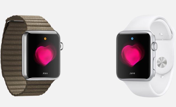 Sharing your heartbeat is just one of the Apple Watch features.