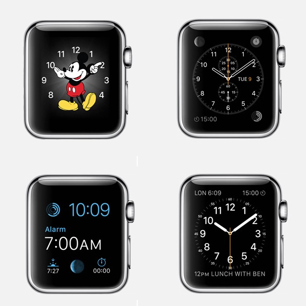 Pick a New Watch Face