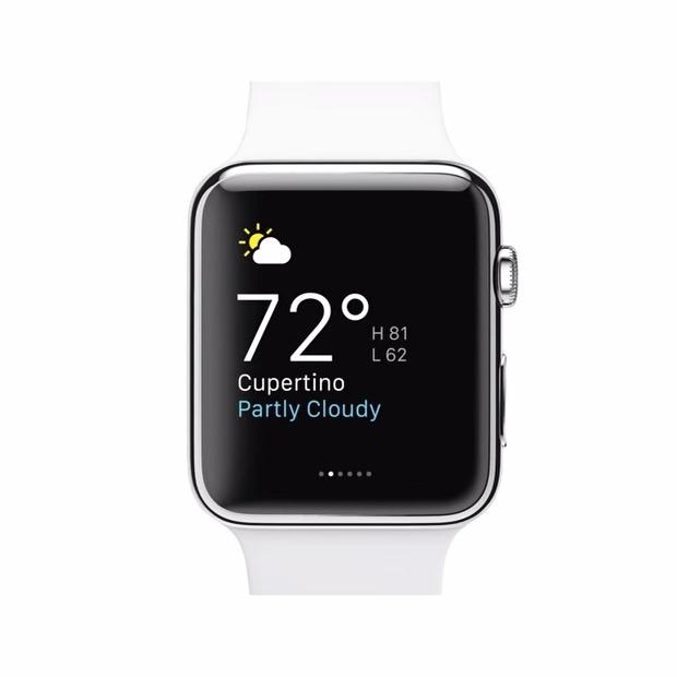 Apple Watch glances