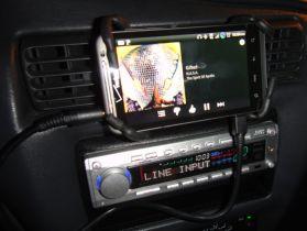 Breffo SpiderPodium In Car
