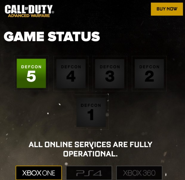 The Call of Duty: Advanced Warfare Day Zero server problems aren't happening according to the official Call of Duty website.