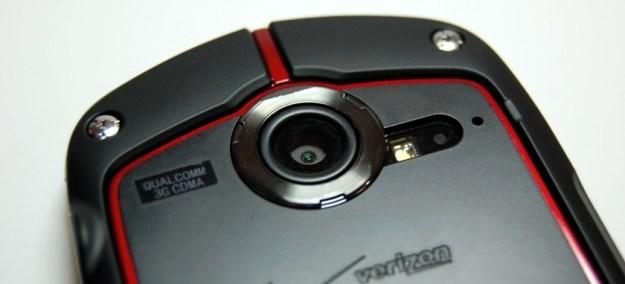 Casio G'zOne Commando Review - Camera