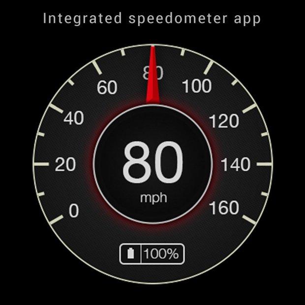 speed watch face pro speedometer feature