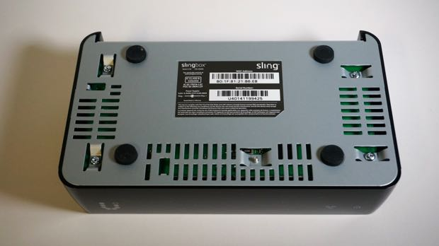 slingbox m1 bottom