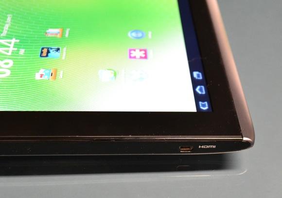 Acer A500 Corner