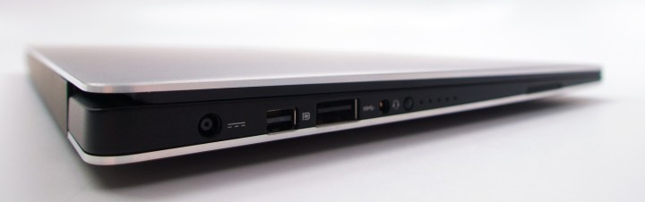 The Dell XPS 13 2015 model includes plenty of ports.
