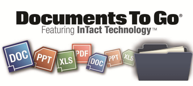Documents To Go 3.0 Android Tablet