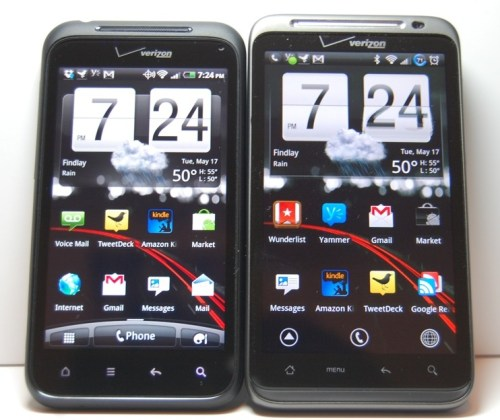 Droid Incredible 2 vs. HTC Thunderbolt