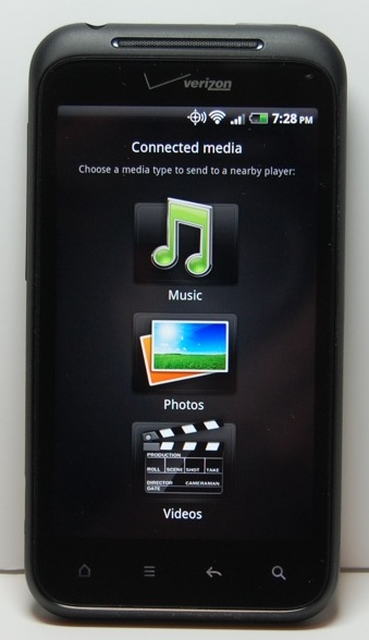 Droid Incredible 2 Review - DLNA Streaming