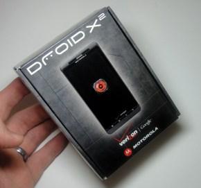 Droid X2 Box