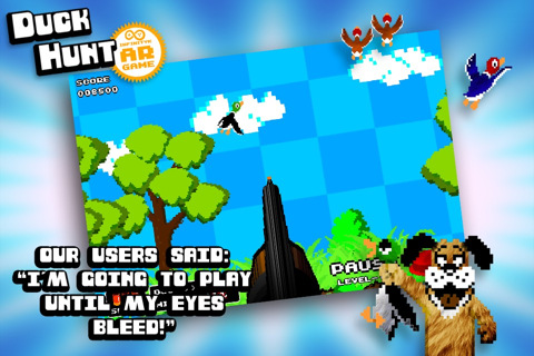 Duck Hunt iPhone game