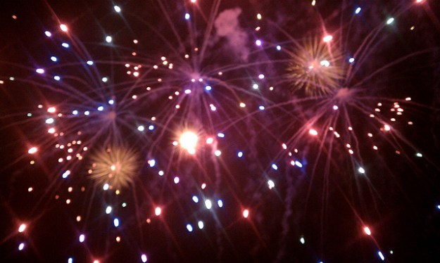 Fireworks photo android smartphone
