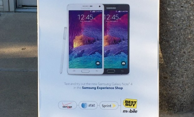 Galaxy Note 4 Release Date Hands On