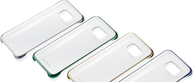 Minimal protection with the Galaxy S6 Clear Cover.