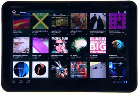 Google Music Beta Android Tablets