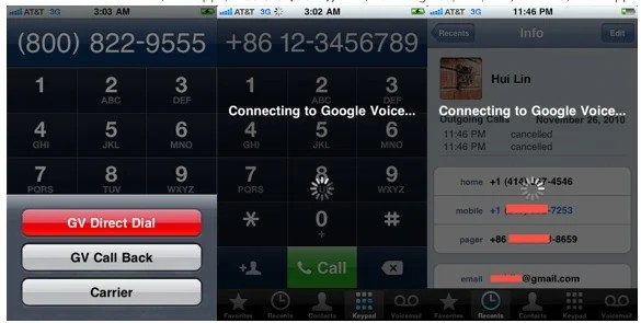 Google Voice Extension iPhone 4S Jailbreak