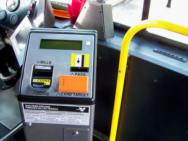 Google Wallet Bus Fare