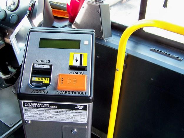 Google Wallet Bus Fare