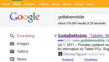 Google plus bar orange