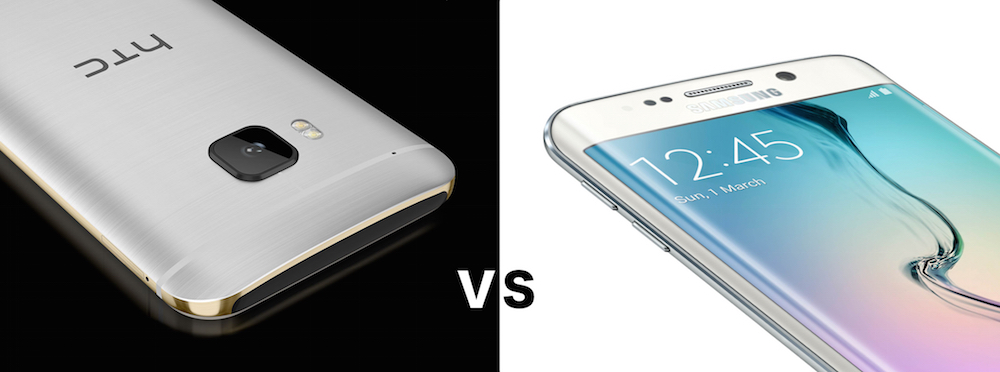 Samsung Galaxy S6 vs HTC One M9: the biggest differences.