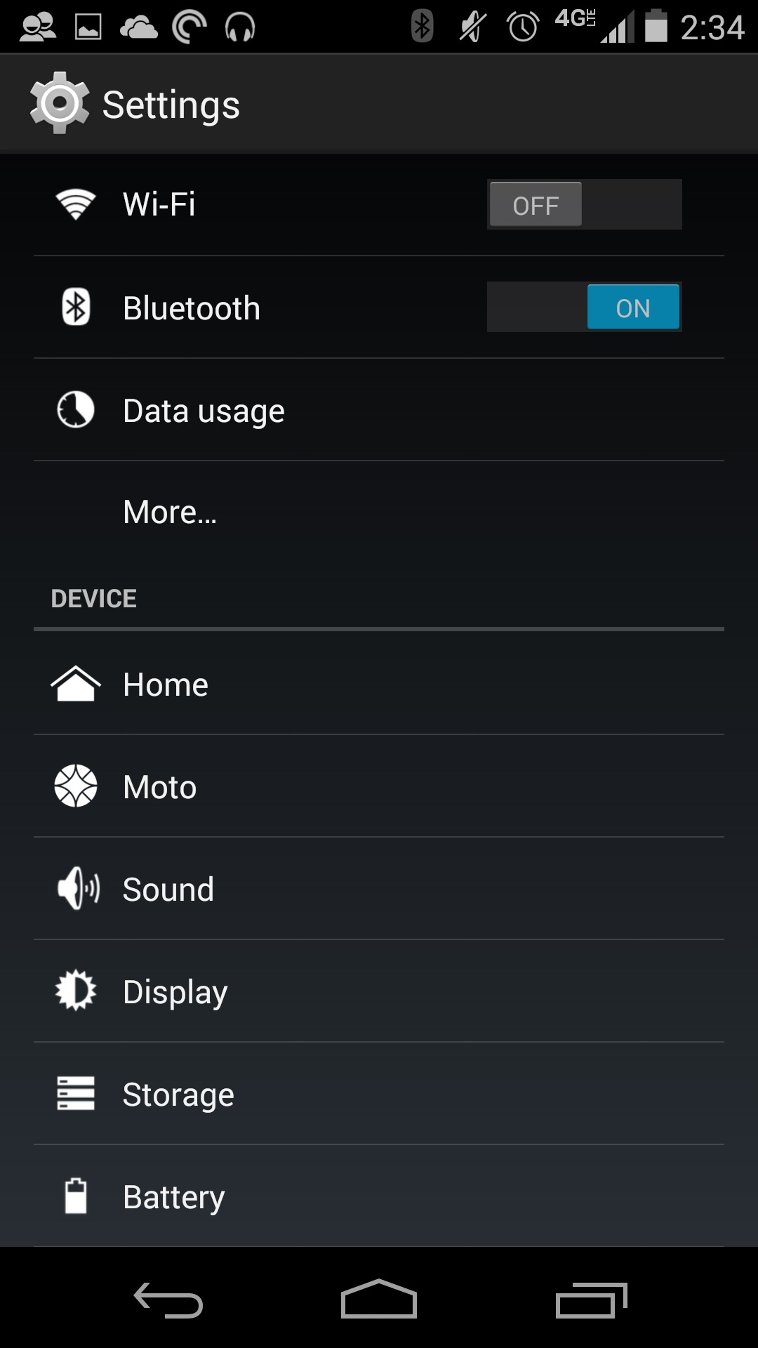 how to create hot spot moto g