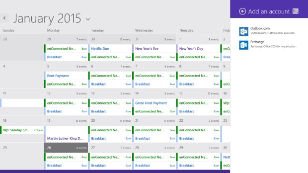 How to Add Calendars to Calendar in Windows 8 (7)