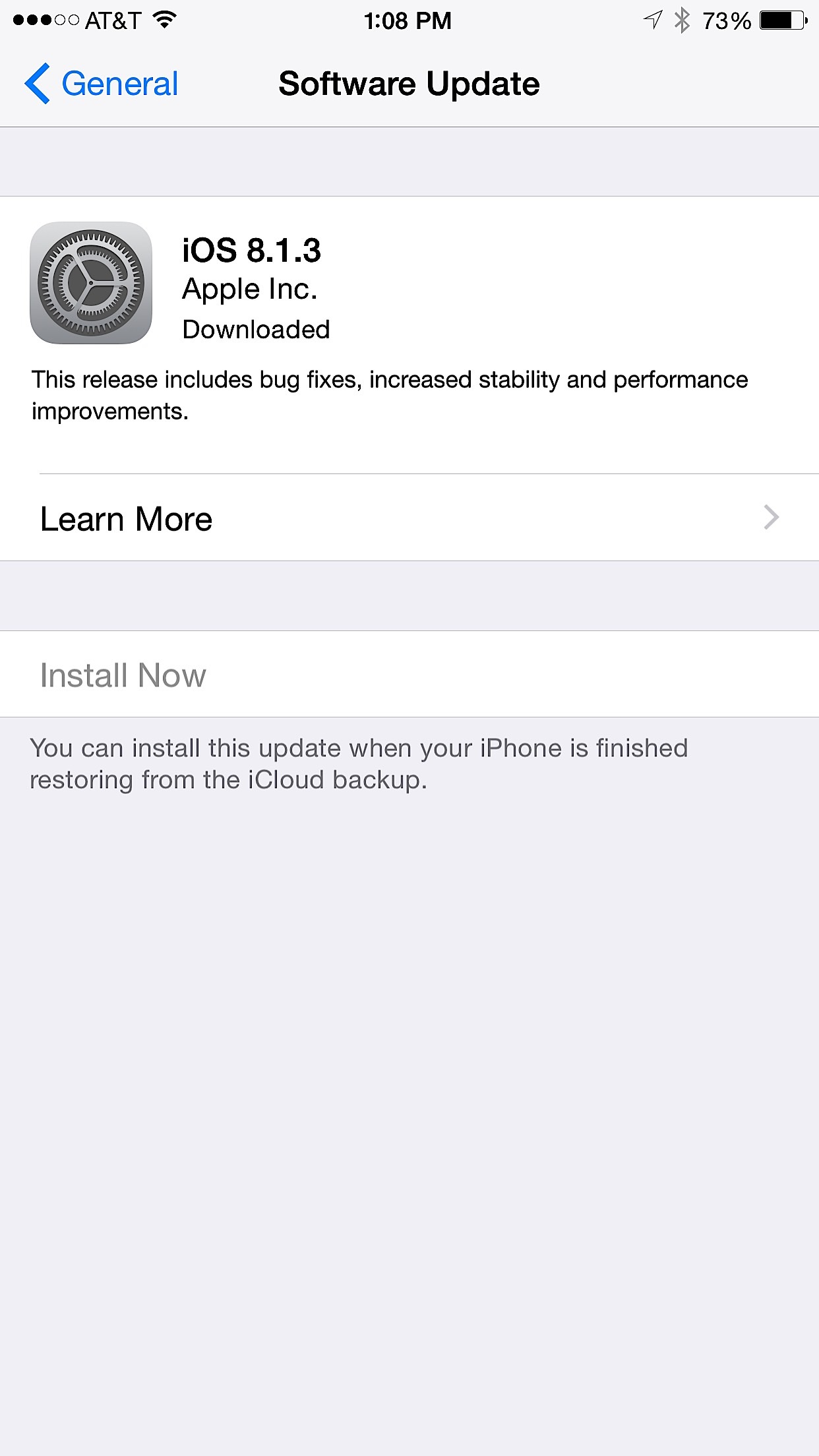 iOS 8.1.3 for iPhone 5s Review