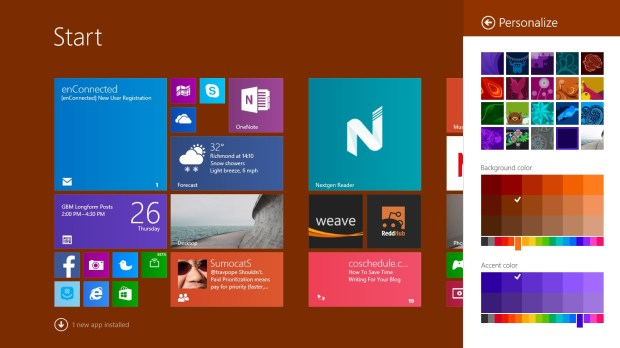 How to Set a Background in Windows 8 (4)