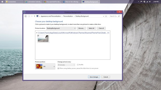 How to Set a Background in Windows 8 (9)