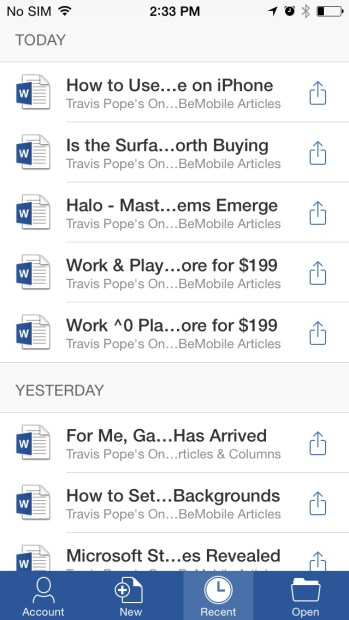 How to Use Microsoft Office on iPhone (9)