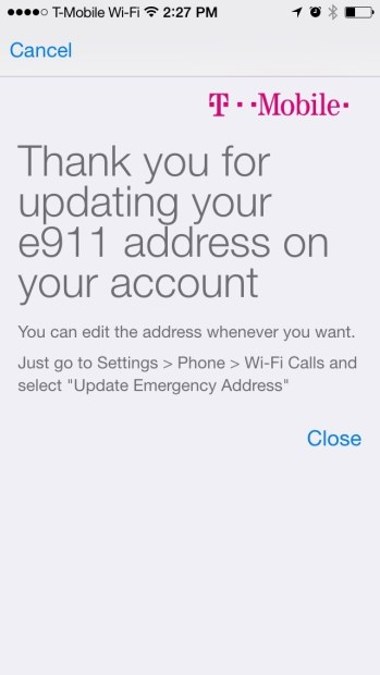 How to Use T-Mobile Wi-Fi Calling On The iPhone (10)