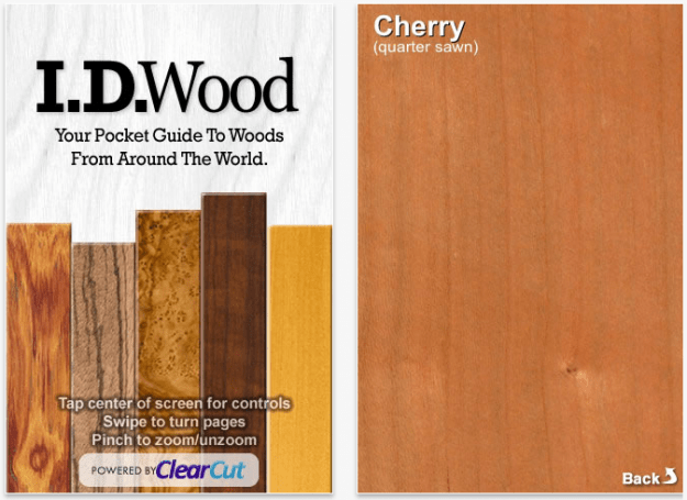 Find the right wood with I.D. Wood.