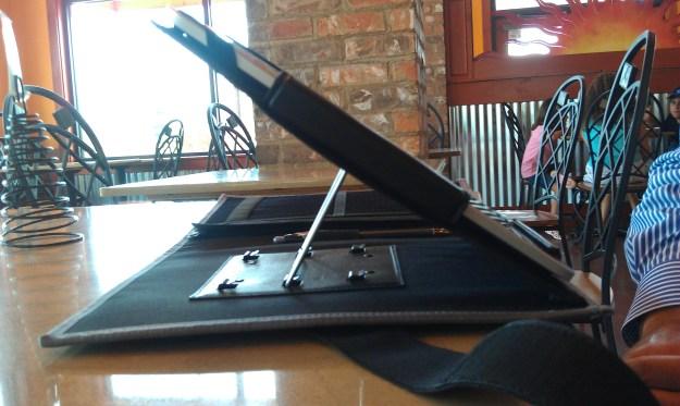 iPad in a Kneeboard Case