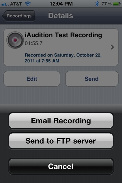 iaudition send