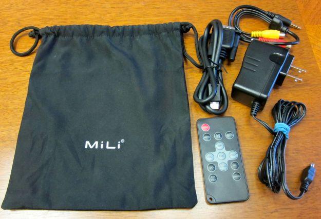 MiLi Pico Projector Accessories