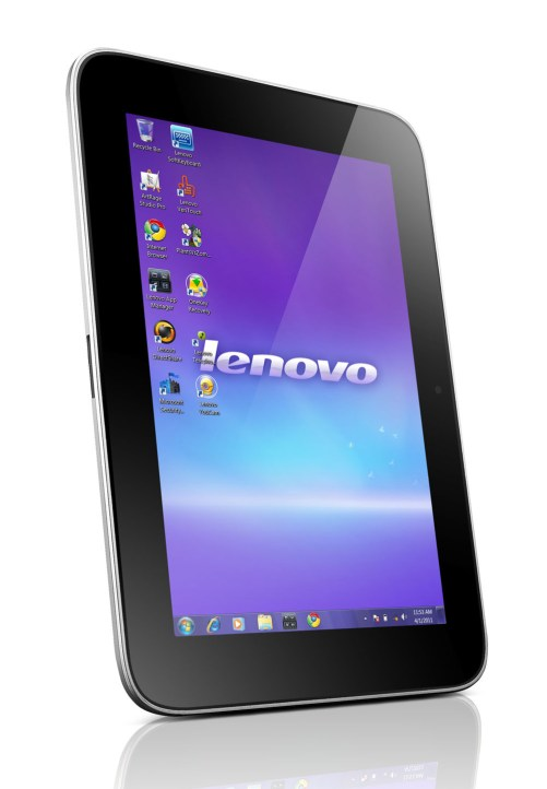 Ideapad P1 Tablet Front Angle